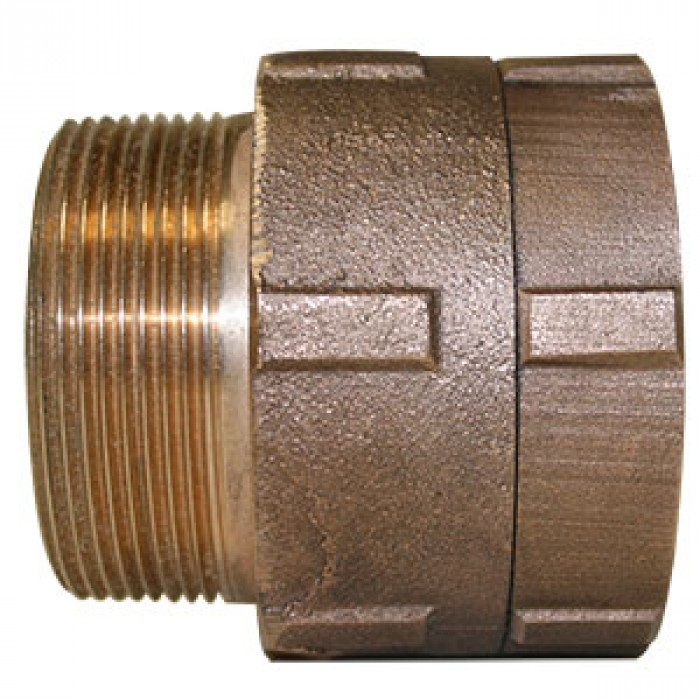 "2-0055 - 2"" bronze hose swivel"
