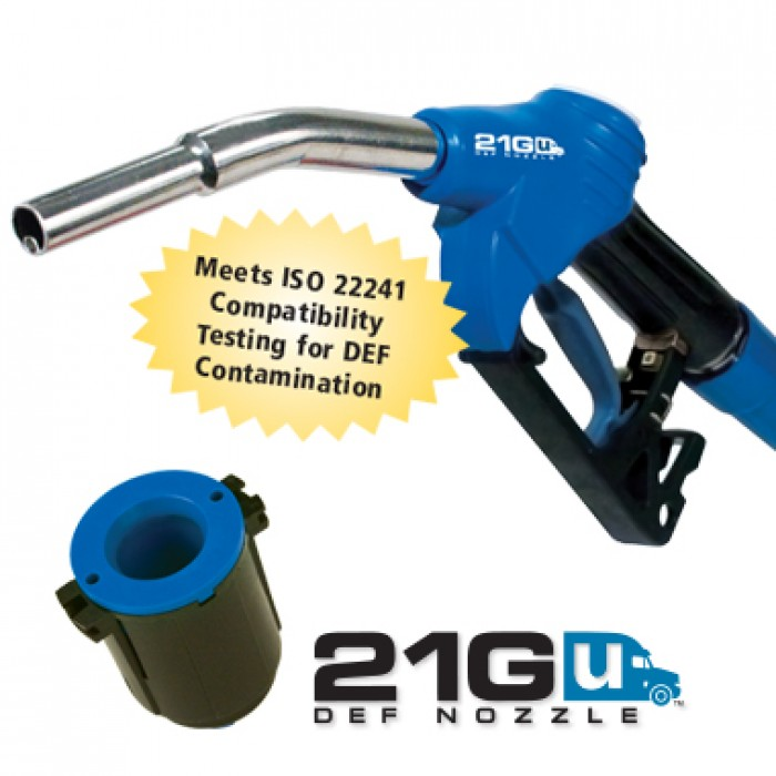 21GU-050G - DEF nozzle gilbarco/gasboy for use with mfpd