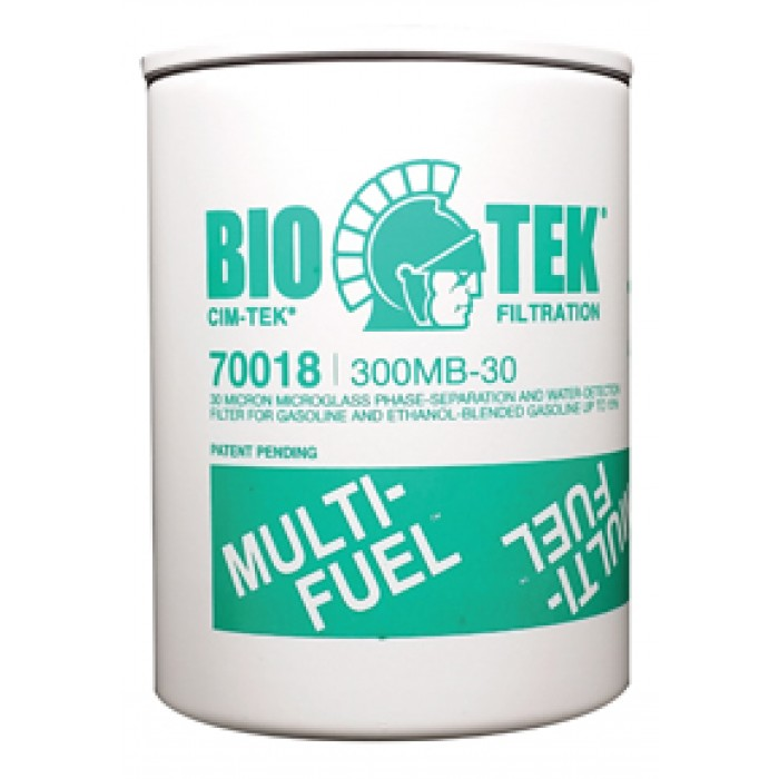 """70018   300MB-30 Particulate Fuel Filter, 3/4"""" Flow"""