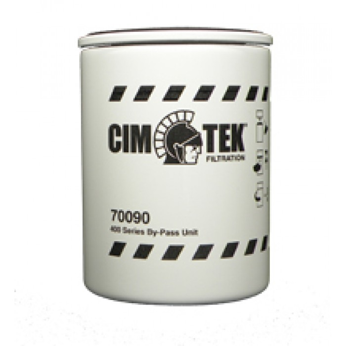 "70090 | 400-Empty Particulate Fuel Filter, 3/4"" Flow"
