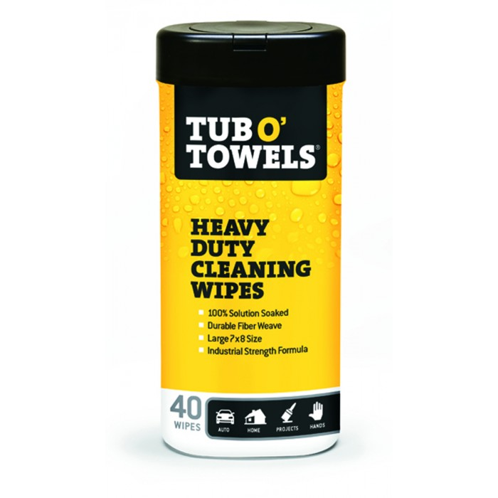 Tub O Towels® Heavy-Duty Multi-Surface Cleaning Wipes