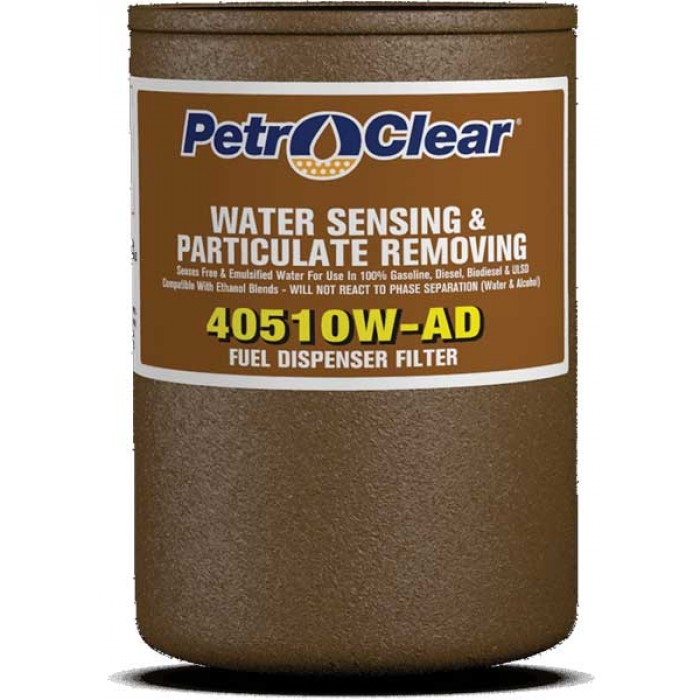 40510W-AD Particulate Removal and Water Sensing 10 Micron