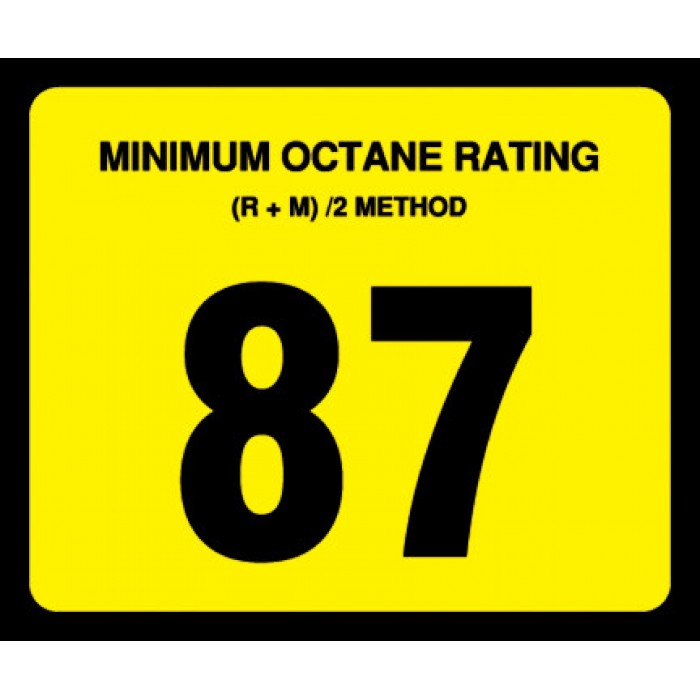 OR Series - Octane Rating