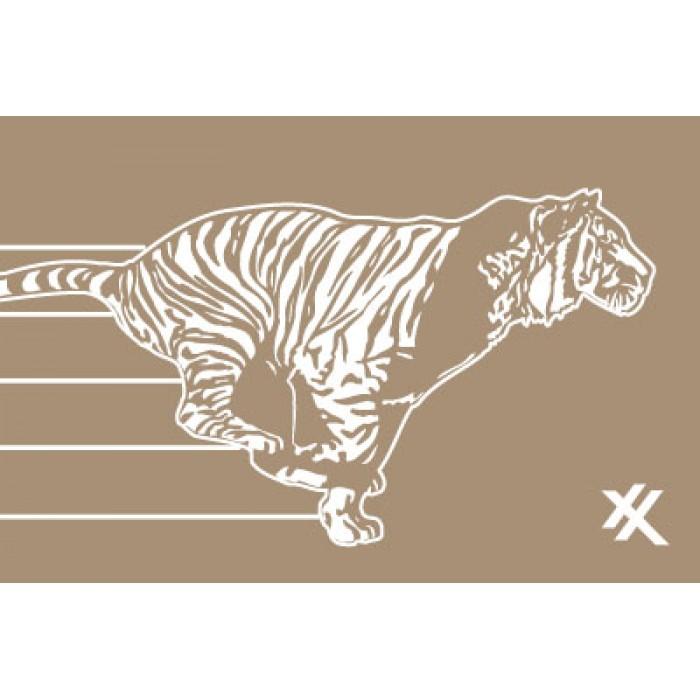 EN13001GA028 - Lower Door Graphic - Exxon Tan