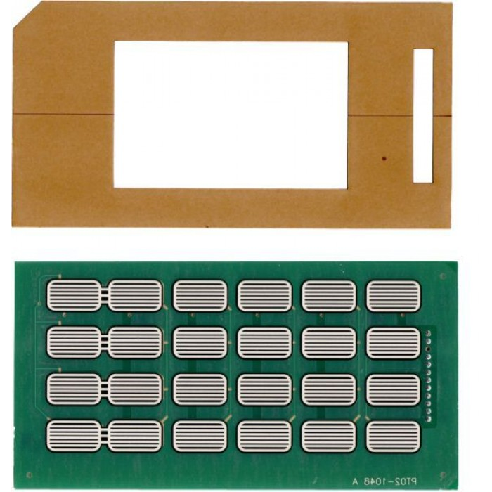 M06975K002 - Encore Customer Input Keypad Kit includes M00141B004 and Adhesive Spacer