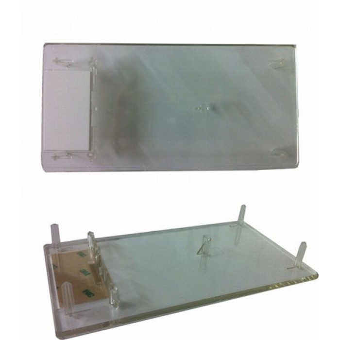 T17635 g1 ppu lens with filler plate for recessed area for Recessed area
