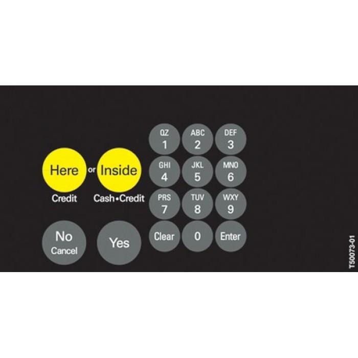 T50073 Series - ADA Crind Keypad