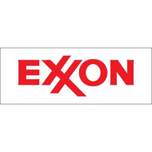 Exxon Canopy/Valance Decal