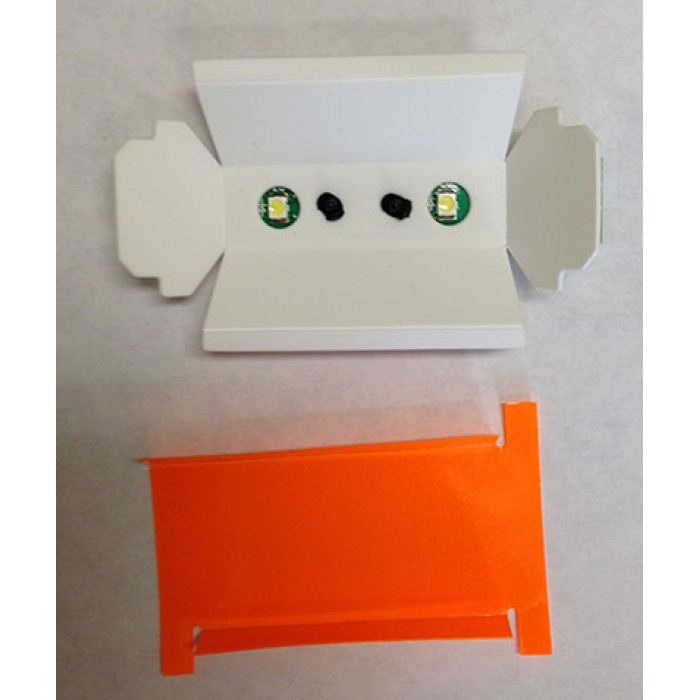 T17622-G8-LED - LCD Reflector Assembly LED lights