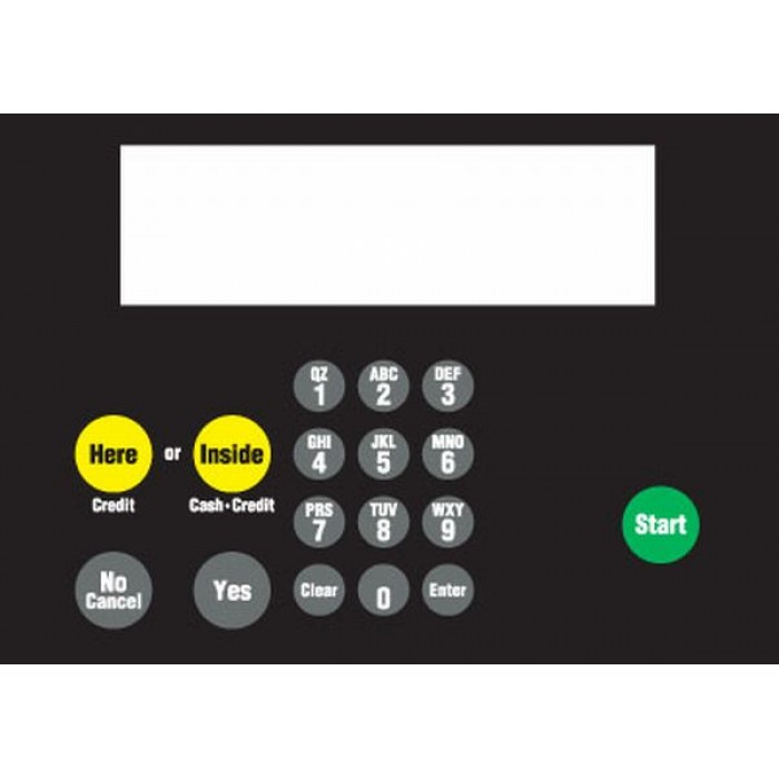 882578-016 - CAT Keypad with Metal Panel