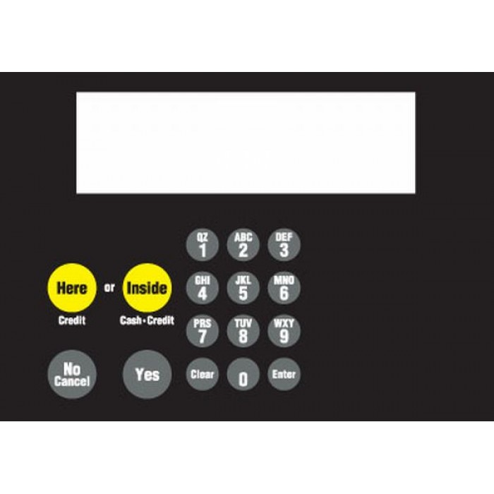882578-017 - CAT Keypad with Metal Panel
